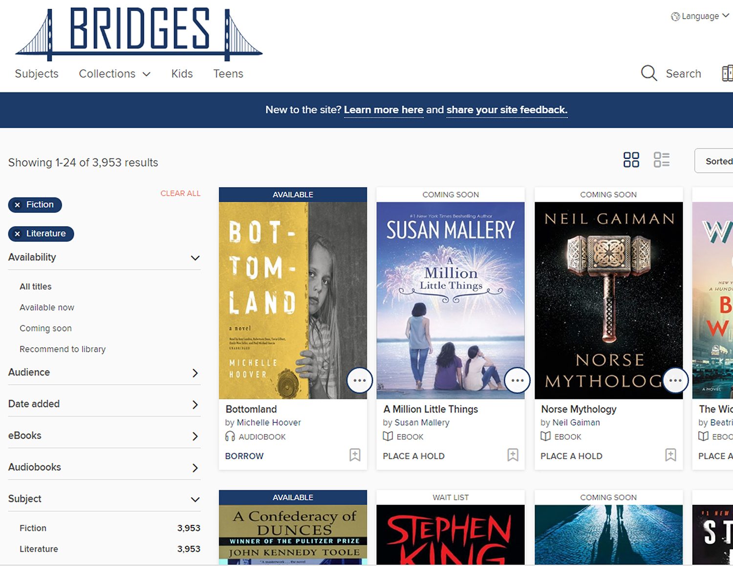 The Wbpl Provides Ebooks Through A Consortium Of Most Iowa Libraries Called  Bridges Together, Iowa Libraries Provide Access To About 10,000 Electronic